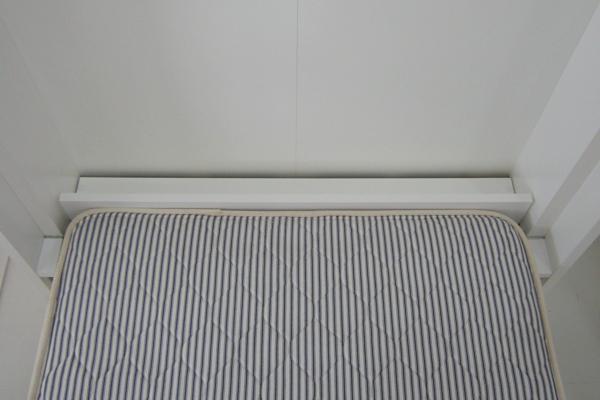 壁収納ベッド