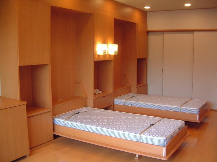 壁収納ベッド静岡Sホテル様開