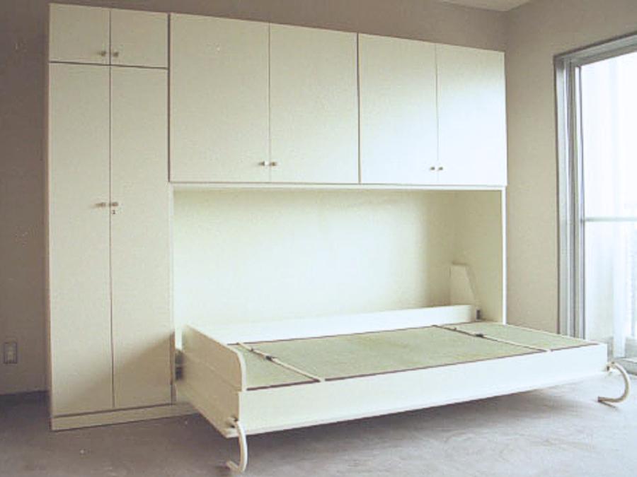 壁面収納ベッド横型上置付M様開
